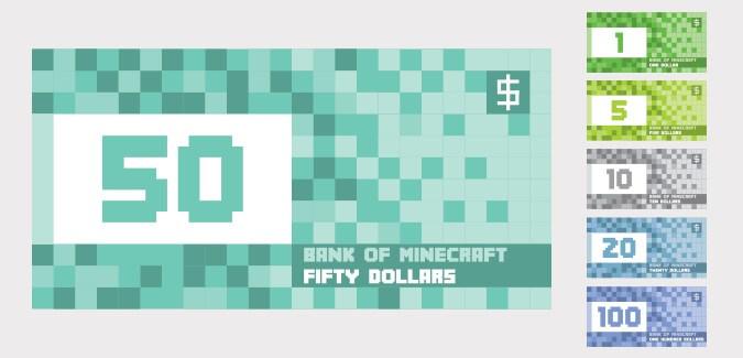 minecraft money