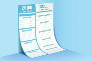 new year goals printable resource
