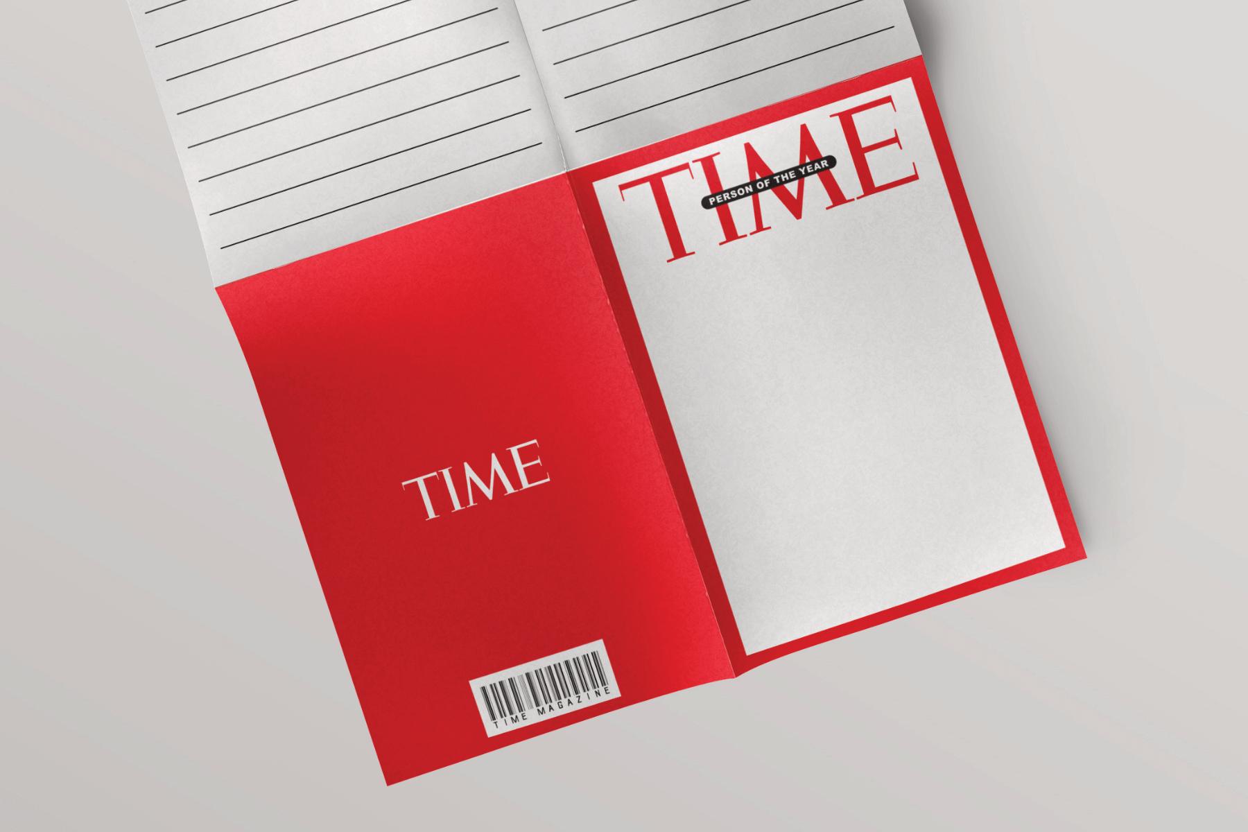 time magazine free template kids