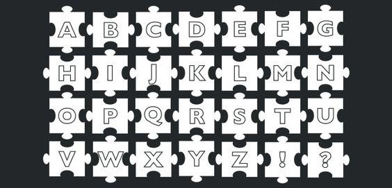 jigsaw alphabet free printable
