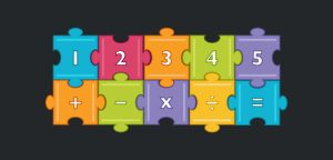 colourful jigsaw numbers free printable
