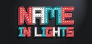 theatre lights classroom alphabet