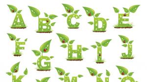 spring plants alphabet
